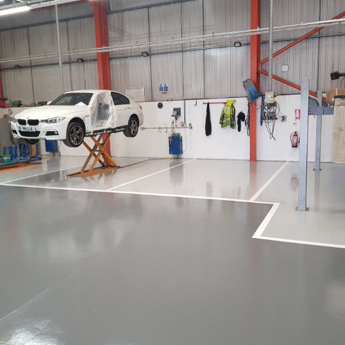 Industrial Flooring Petersfield